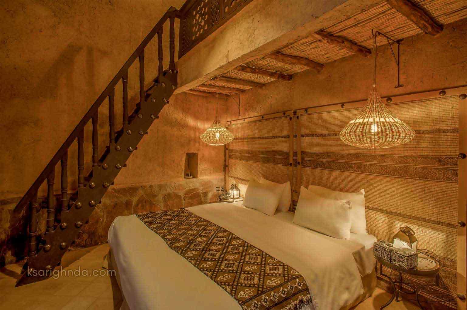 Chambre confort Hôtel ksar Ighnda
