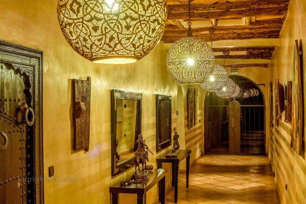 Couloir Hôtel ksar Ighnda