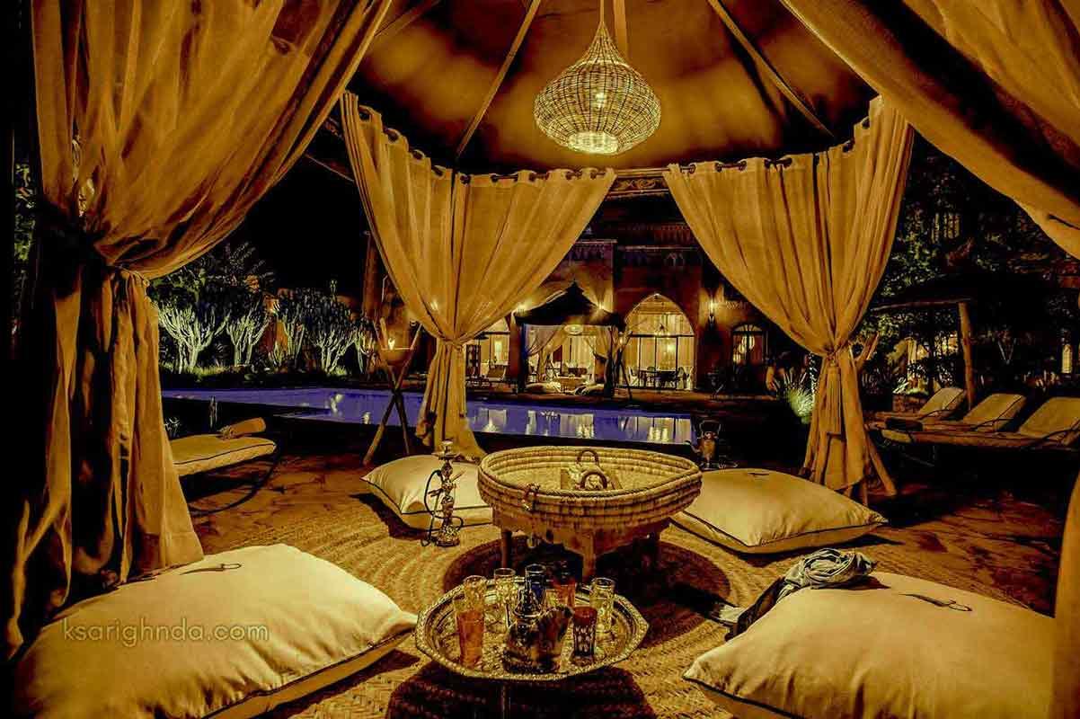 Soirée Hôtel ksar Ighnda