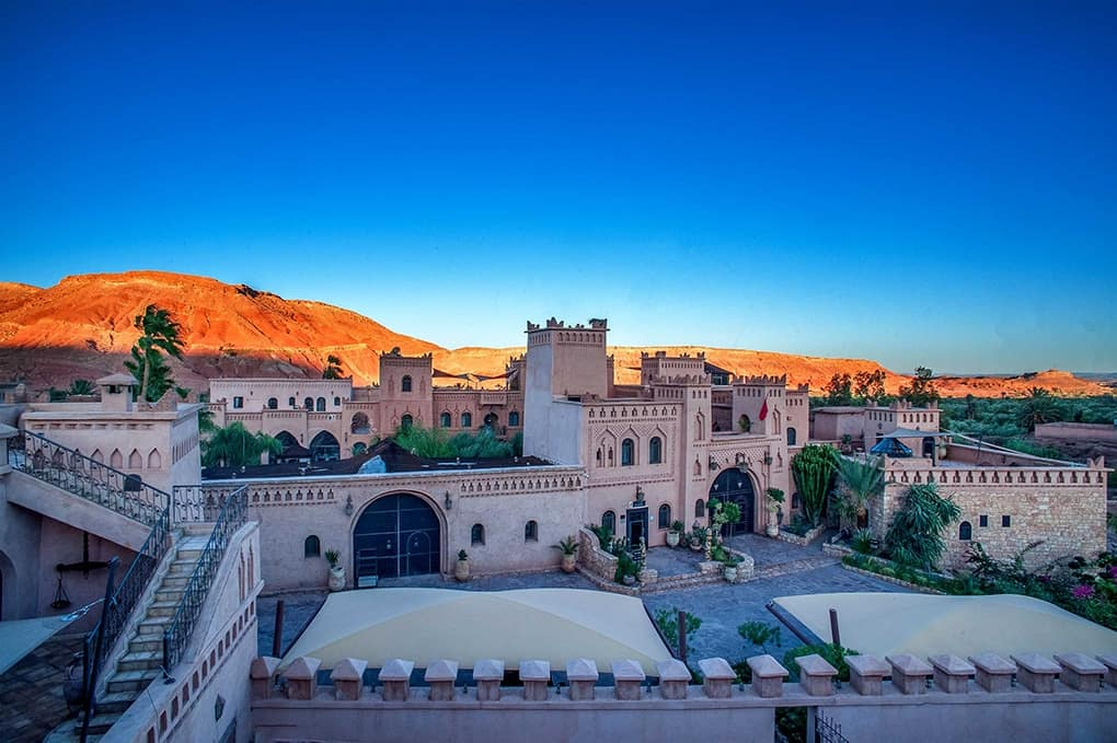 Panorama hotel Ksar Ighnda Ouarzazate