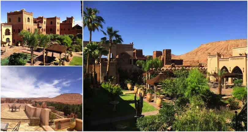 collage ksar ighnda Ouarzazate