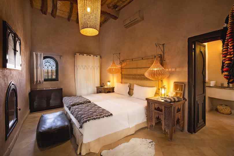 Chambre standardiste - ksar ighnda Ouarzazate