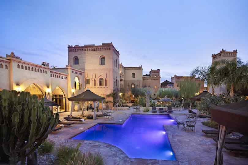 Hôtel de luxe Ouarzazate
