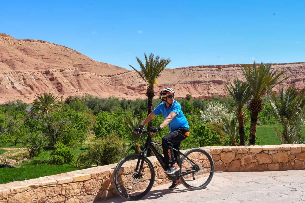 Activité en vélo - Ksar Ighnda