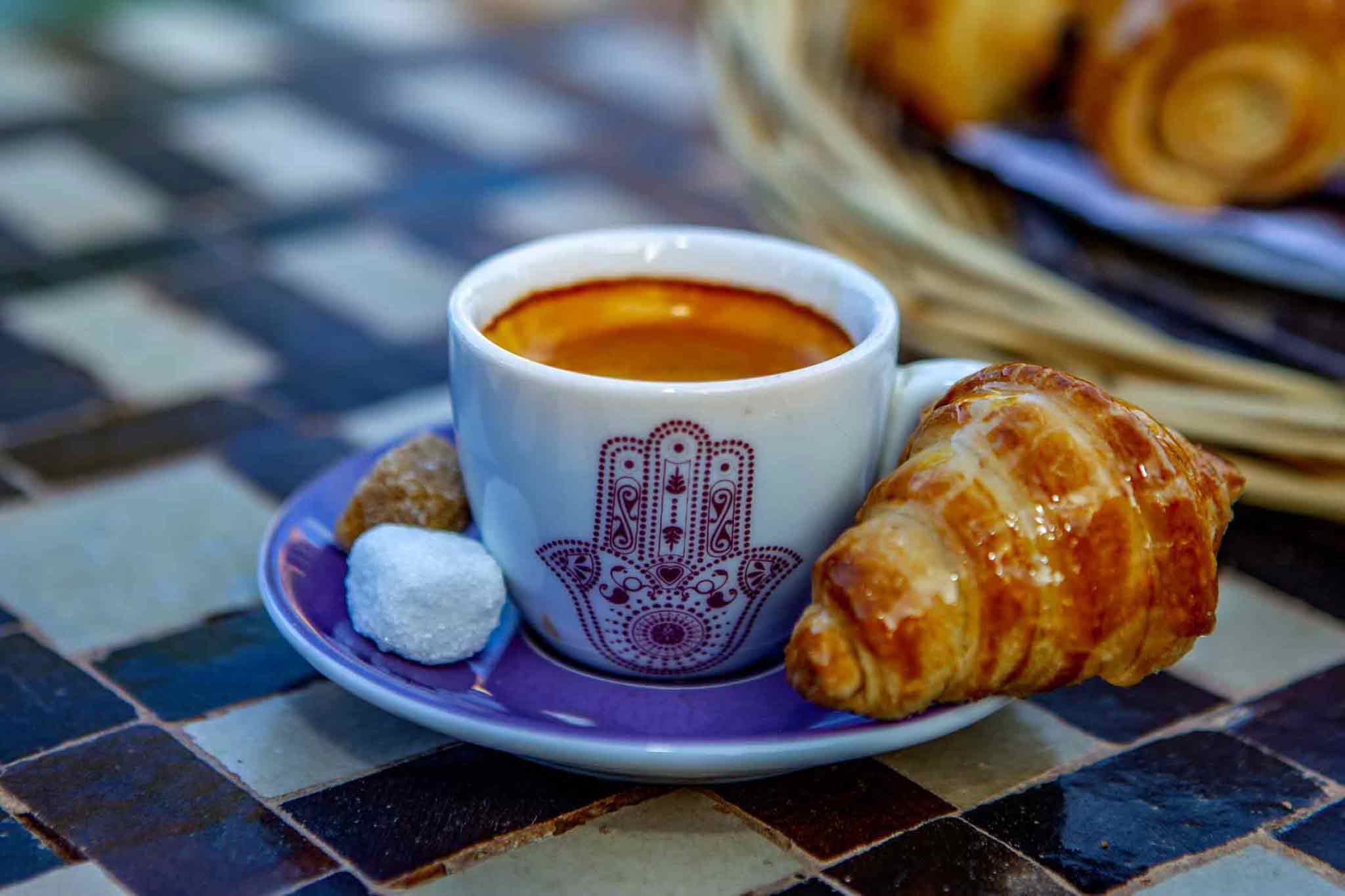 Petit déjeuné - Ksar Ighnda