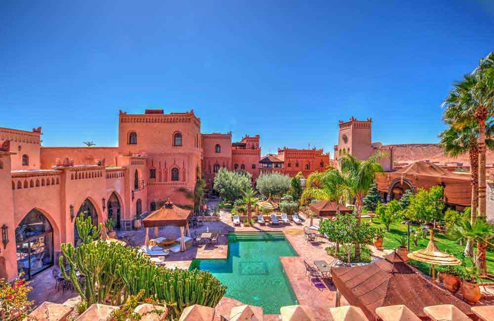 hôtel de luxe à Ouarzazate