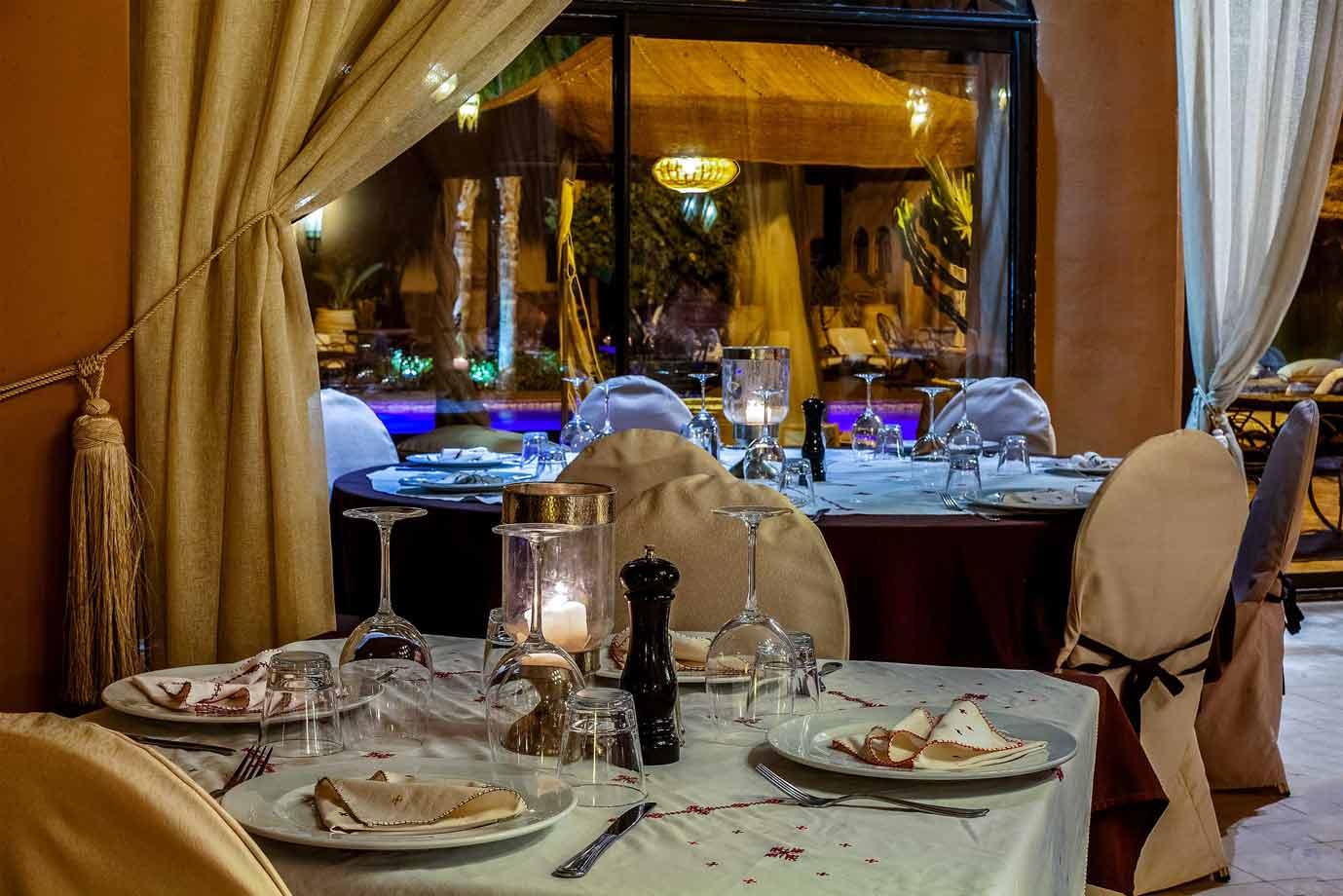 Restaurant - Riad Ksar Ighnda Maroc