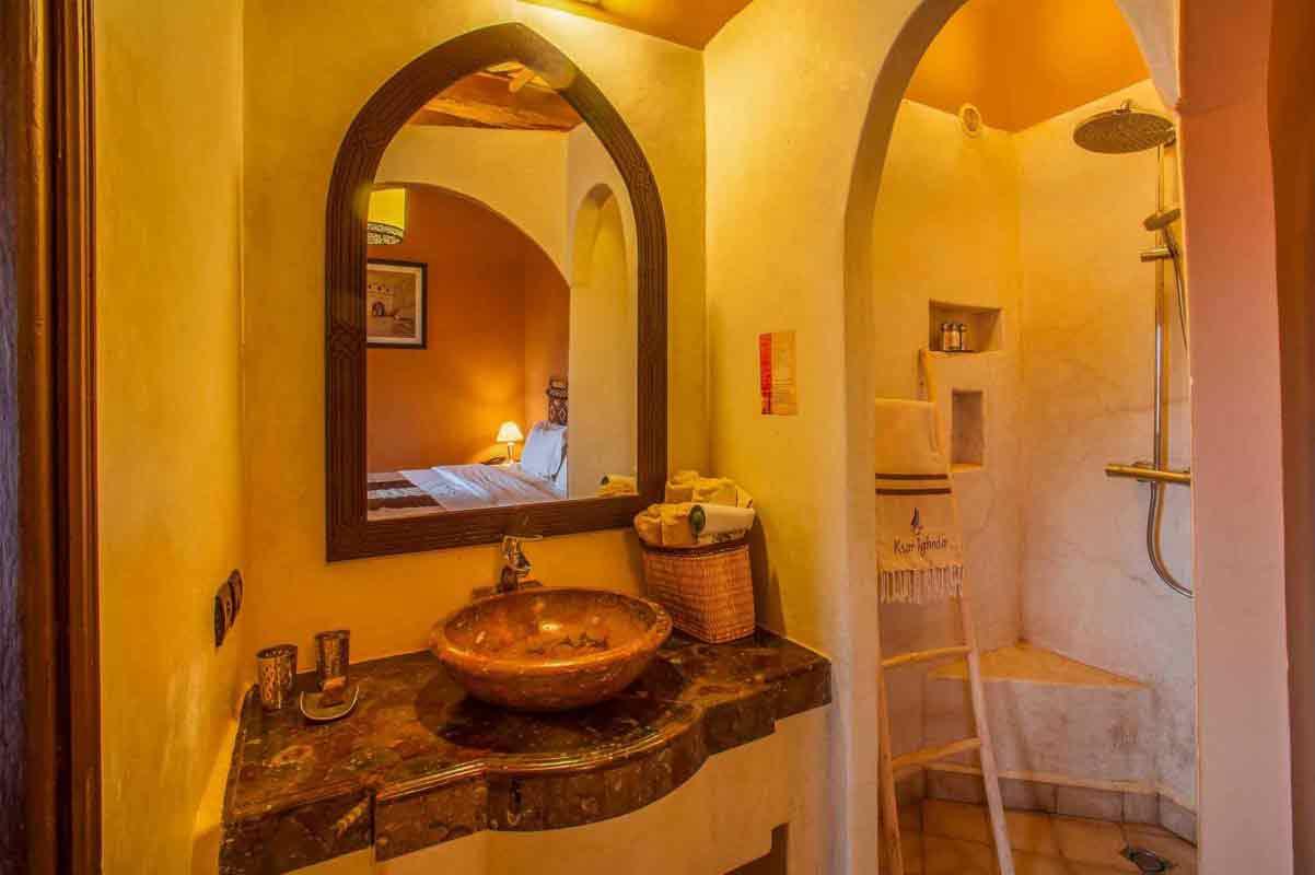 chambre standard - ksar Ighnda Ouarzazate