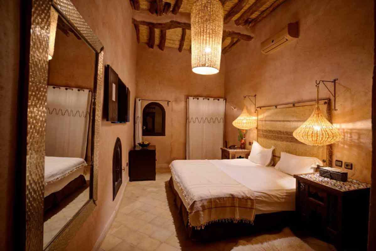 chambre standard - Riad ksar Ighnda Ouarzazate