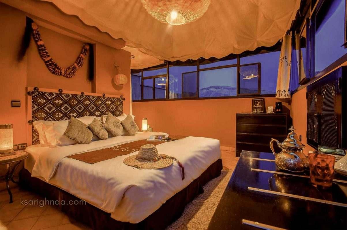 chambre hotel ouarzazate