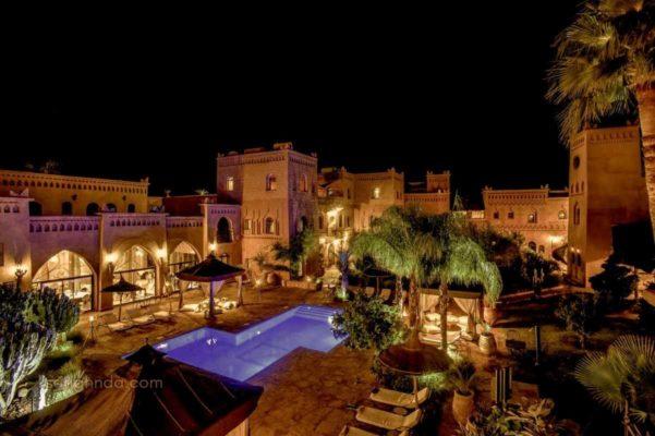 nuitée hotel ksar ighnda ouarzazate