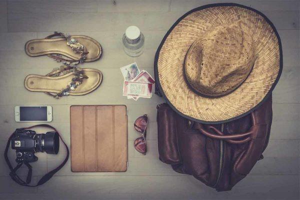 Objet à emporter voyage au Maroc