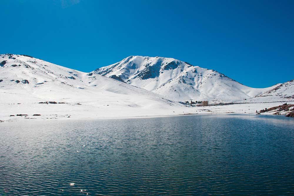 Oukaïmden: ski Maroc