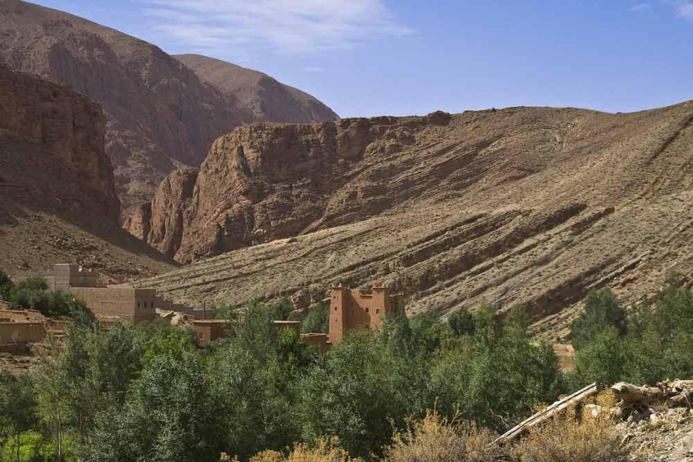 Gorges à Ouarzazate