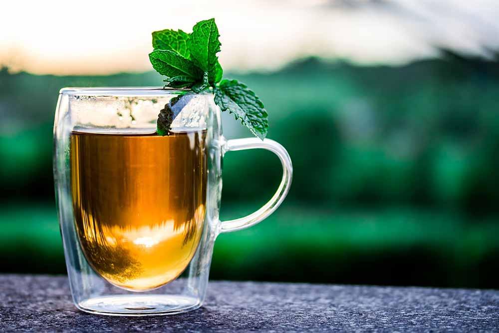 thé à la menthe marocaine