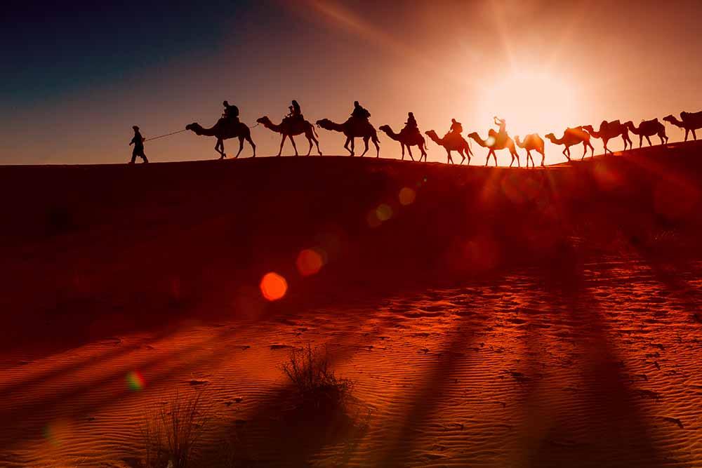 Passer une nuit dans le désert de Sahara