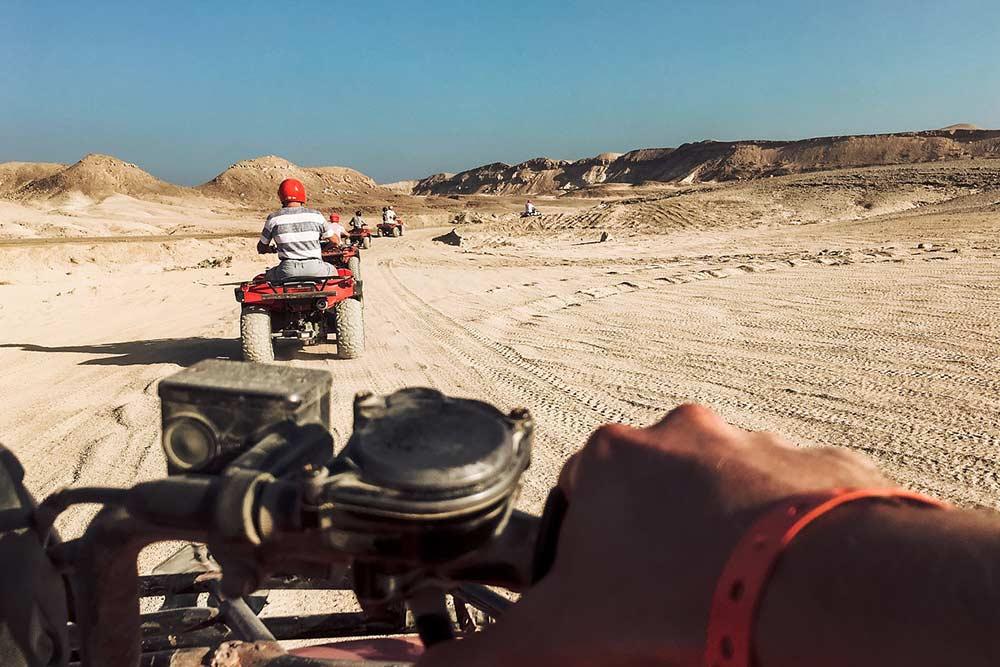 Randonné en quad à Ouarzazate