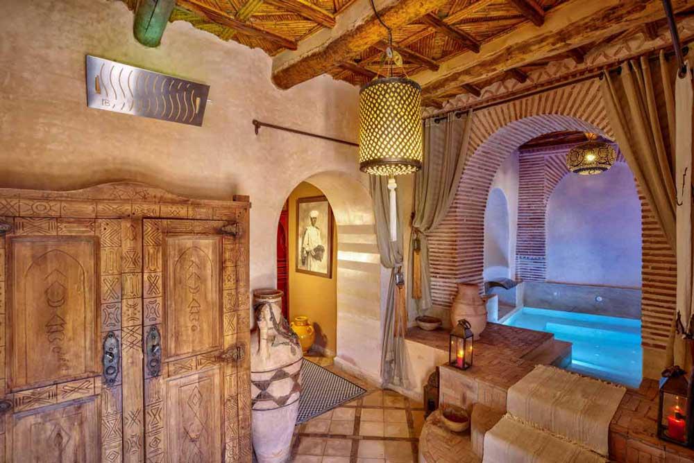 moment de détente à Ouarzazate